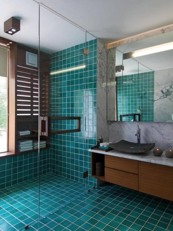 Красивый цвет плитки для ванной