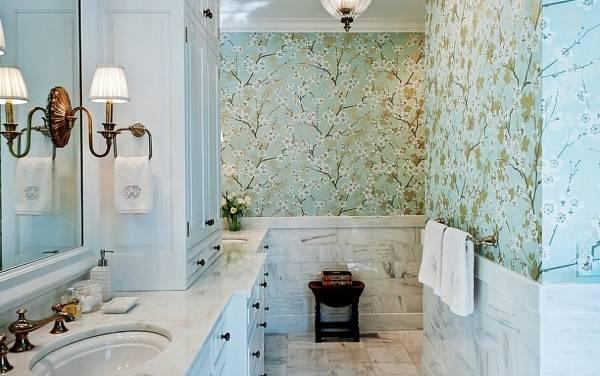 Дизайн ванной в классическом стиле 2015