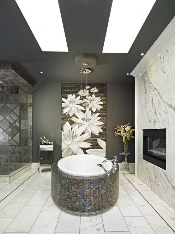 Шикарная ванная комната в китайском стиле