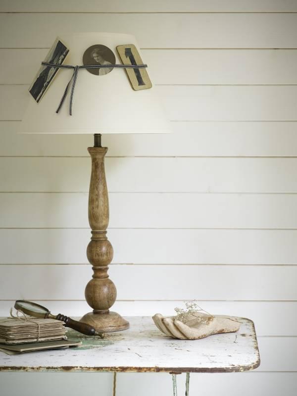 Идея для самодельной настольной лампы