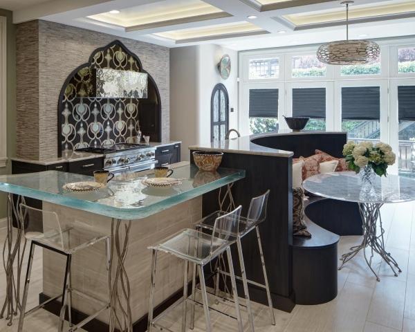 Дизайн кухни в мавританском стиле