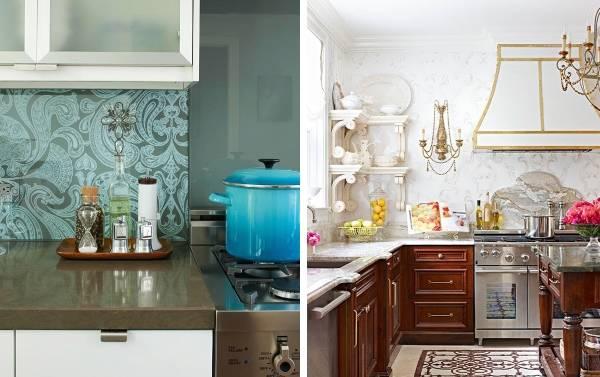 Красивые обои на кухню