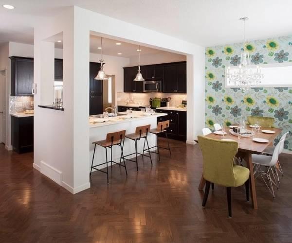 Кухня и столовая - дизайн интерьера 2015