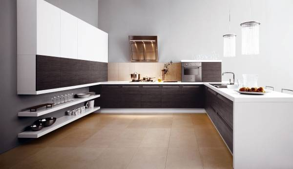 Красивая кухня в стиле luxury minimalizm