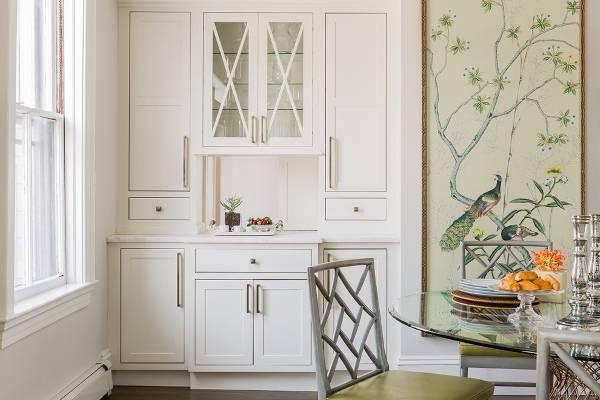 Кухонные обои фреска