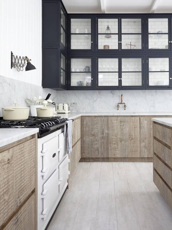 Светлая кухня в скандинавском стиле 2015