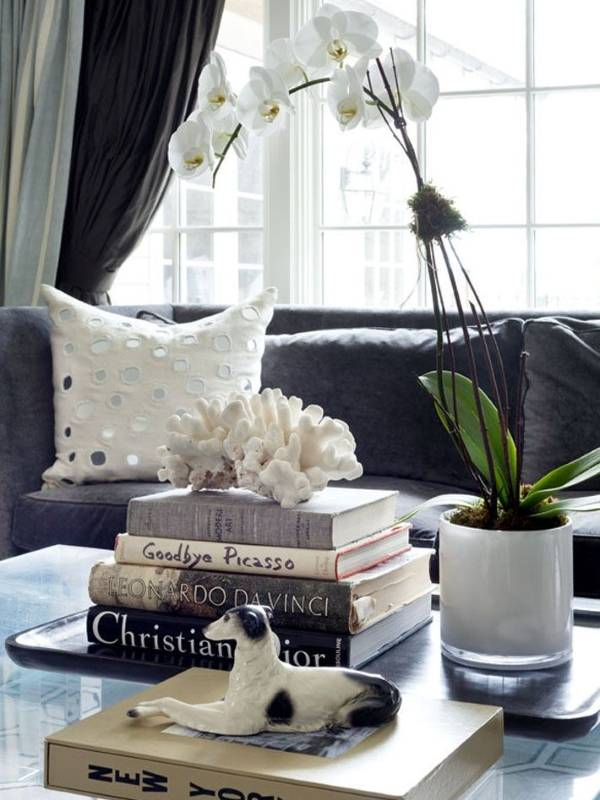 Книги как декор в интереьре