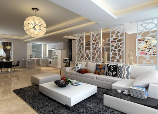 Декор квартиры с открытой планировкой