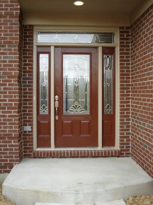 Металлические входные двери из стекловолокна