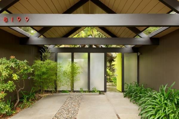 Проекты домов с гаражом в виде навеса