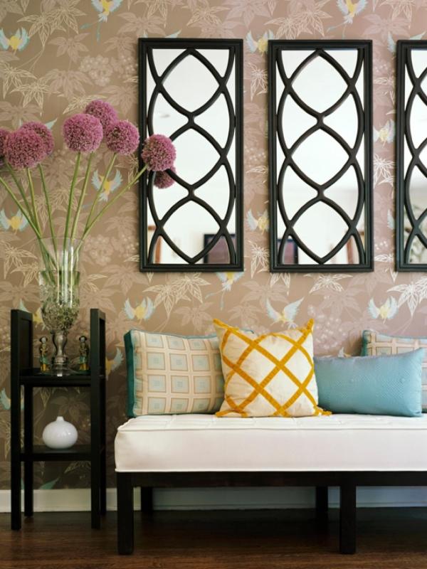 Идеи домашнего декора с зеркалами
