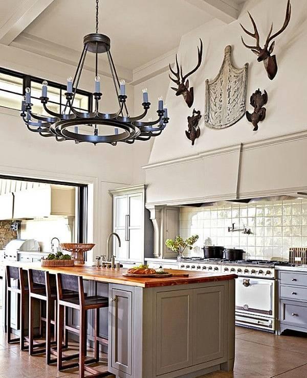 Идеи для традиционного декорирования кухни