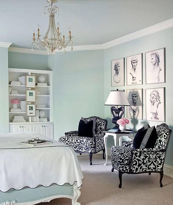 Дизайн спальни с традиционным декором