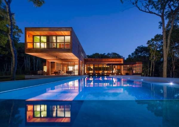 Современный дизайн частного дома фото