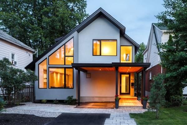Современная архитектура - дизайн частного дома