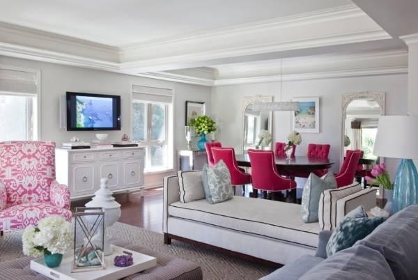 Дизайн частного дома: выбор цвета для интерьера
