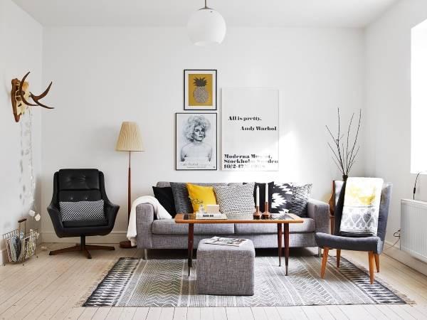 Идеи для дизайна и декора маленьких комнат