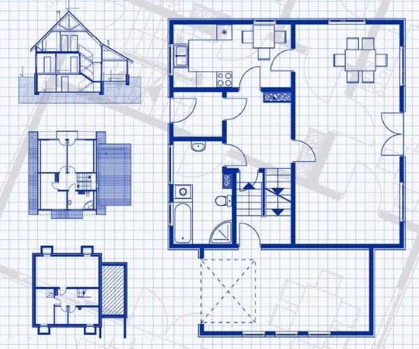 Рисуем дизайн частного дома своими руками на бумаге