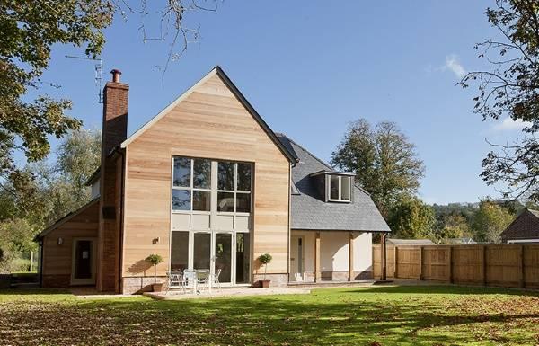 Дизайн частного загородного дома фото