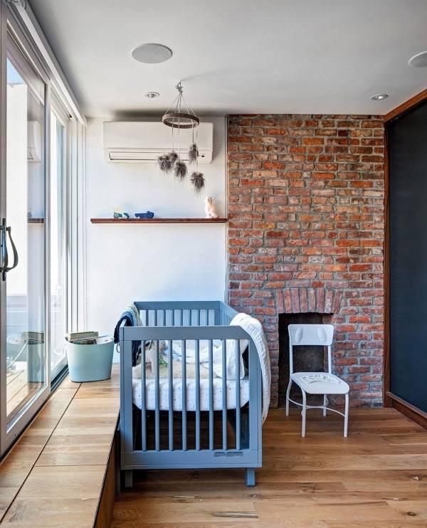 Промышленный внутренний дизайн частного дома