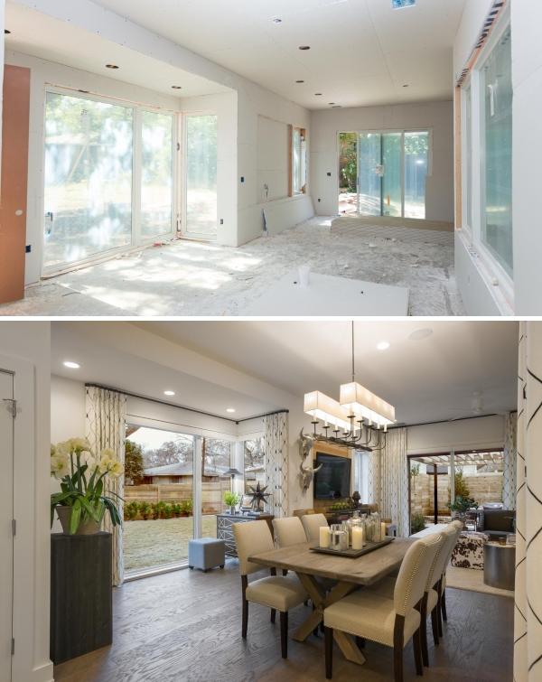 Интерьер частного дома с нуля