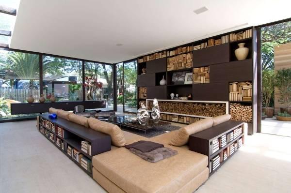 Современный дизайн частного дома внутри