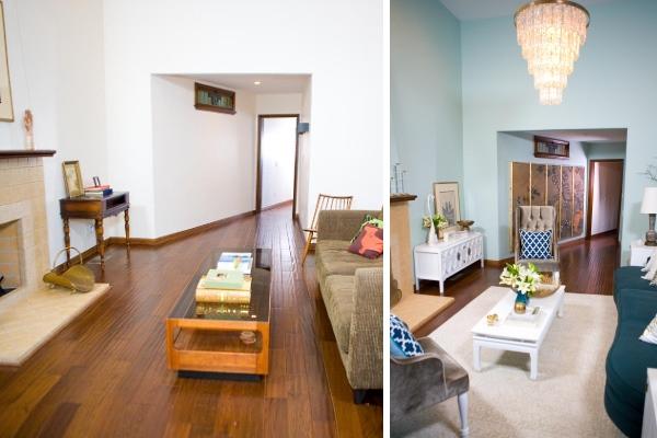 Дизайн интерьера частного дома фото до и после