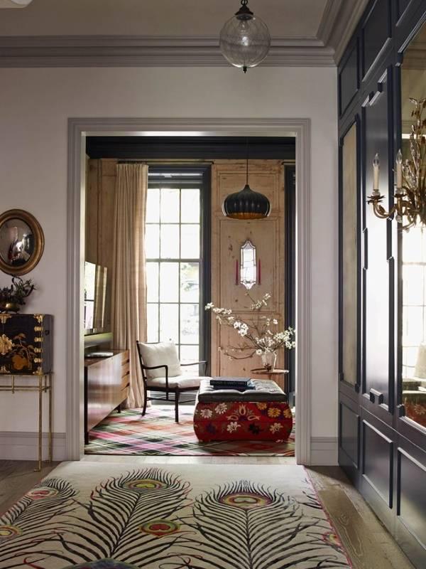 Эклектичный дизайн интерьера в частном доме