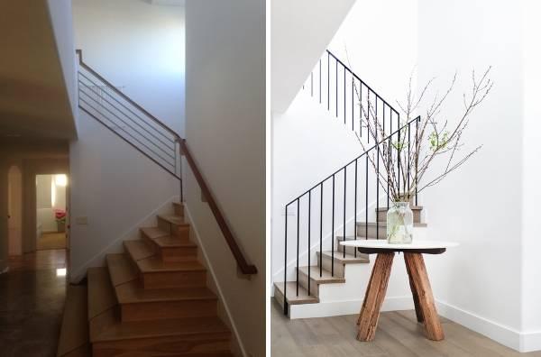 Дизайн частного дома внутри до и после