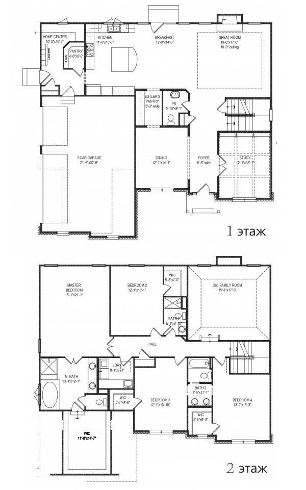 Планировка комнат в частном доме своими руками