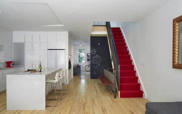 Внутренний дизайн частного дома дуплекса