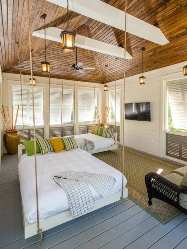 Дизайн спальни в пляжном стиле