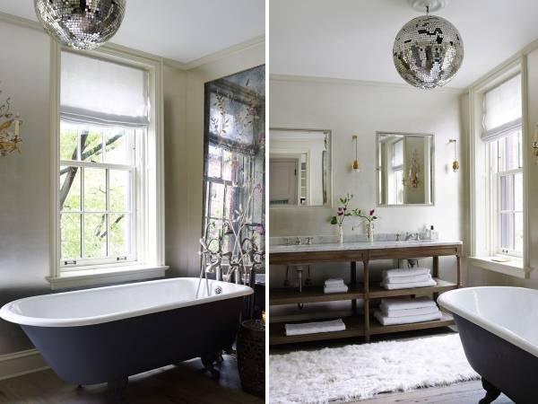 Дизайн интерьера частного дома - фото ванной