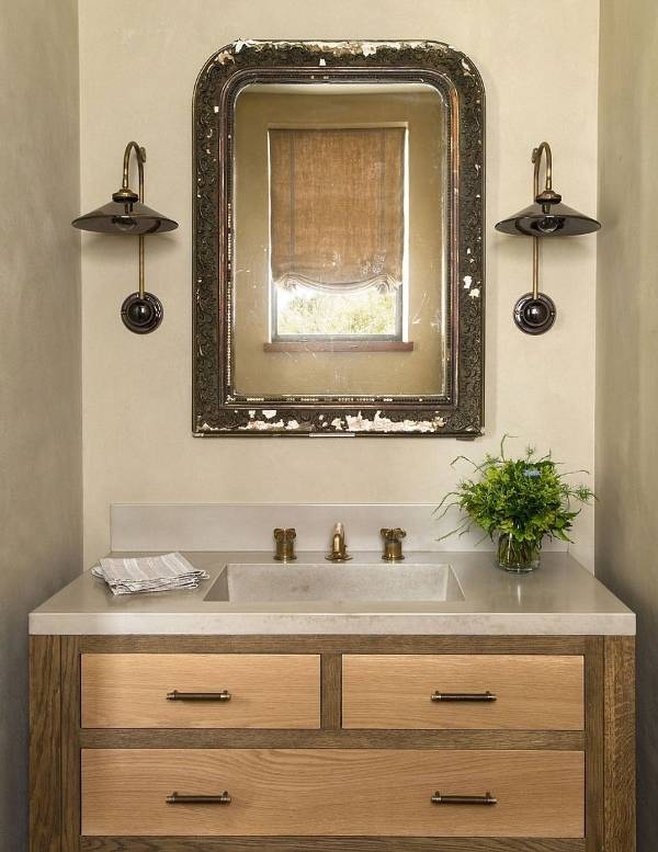 Дизайн ванной комнаты в современном частном доме