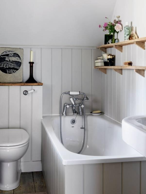 Внутренний дизайн частных домов - фото ванной