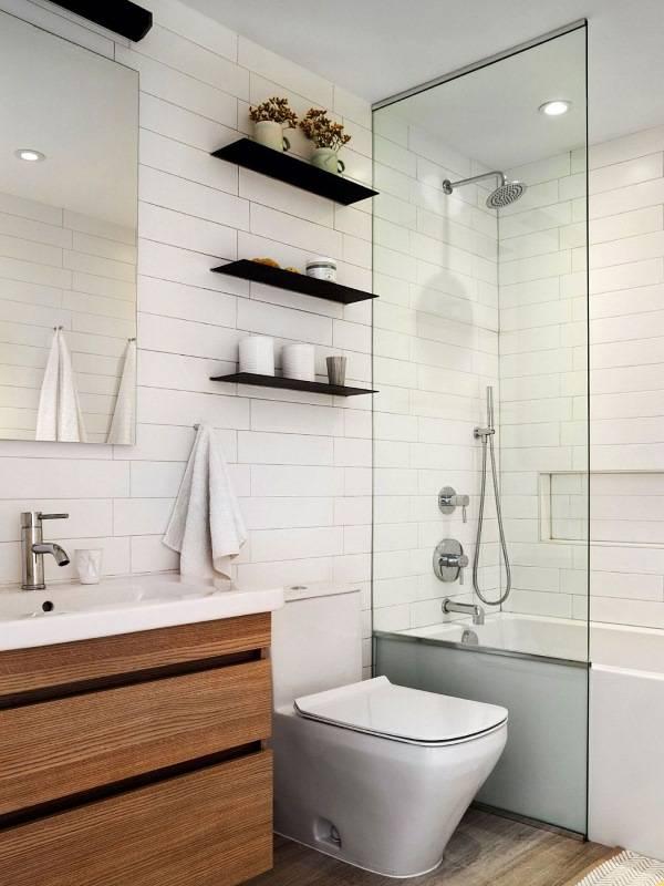Дизайн ванной комнаты в свежем современном стиле