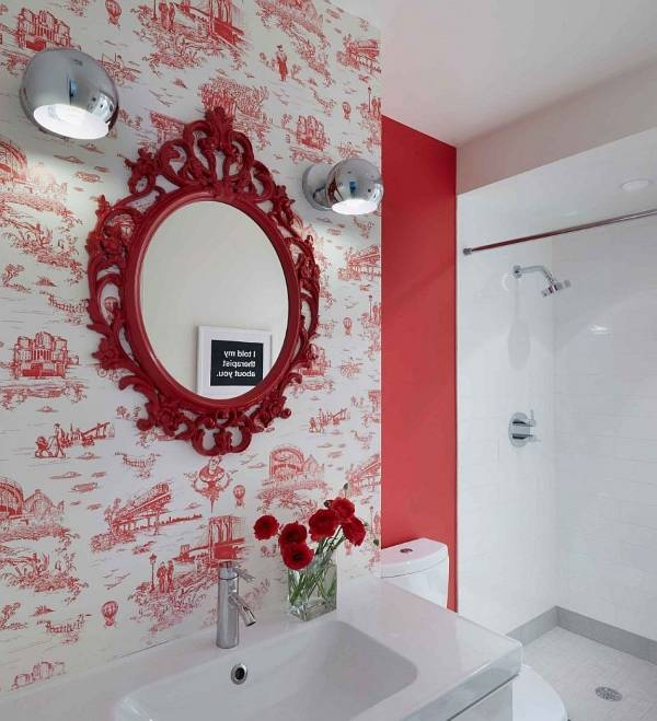Современный внутренний дизайн ванной частного дома