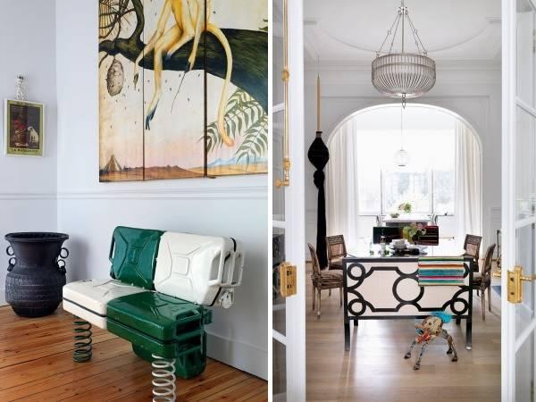 Креативный внутренний дизайн частного дома