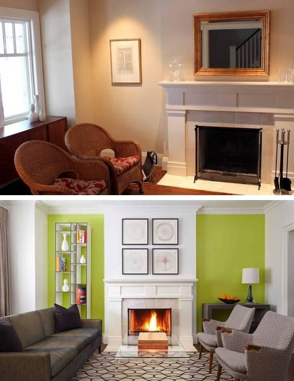 Интерьер частного дома до и после ремонта