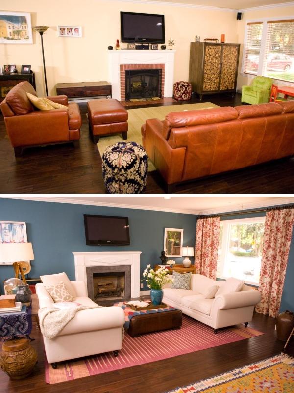 Идеи для ремонта гостиной в частном доме