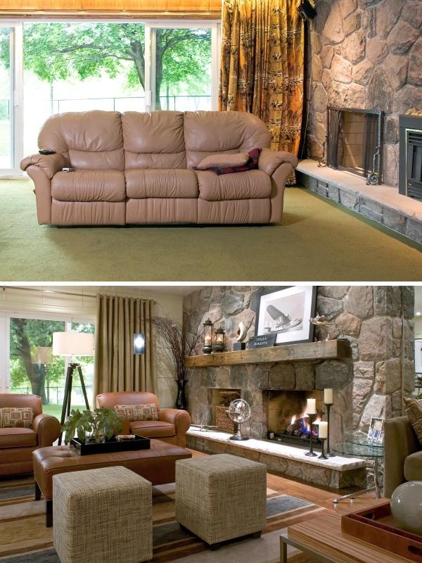 Дизайн гостиной в интерьере частного дома