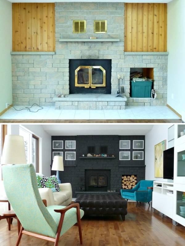 Интерьер маленькой гостиной частного дома
