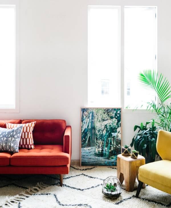 Дизайн интерьера 2015 с декором от бренда West Elm