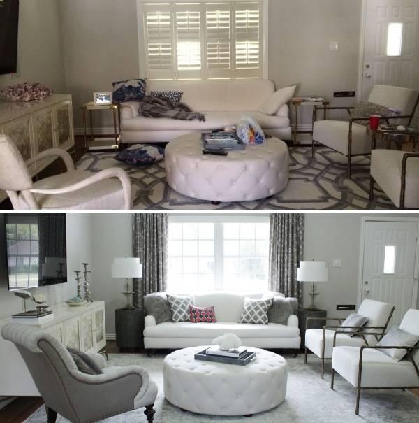 Как обновить дизайн гостиной дешево