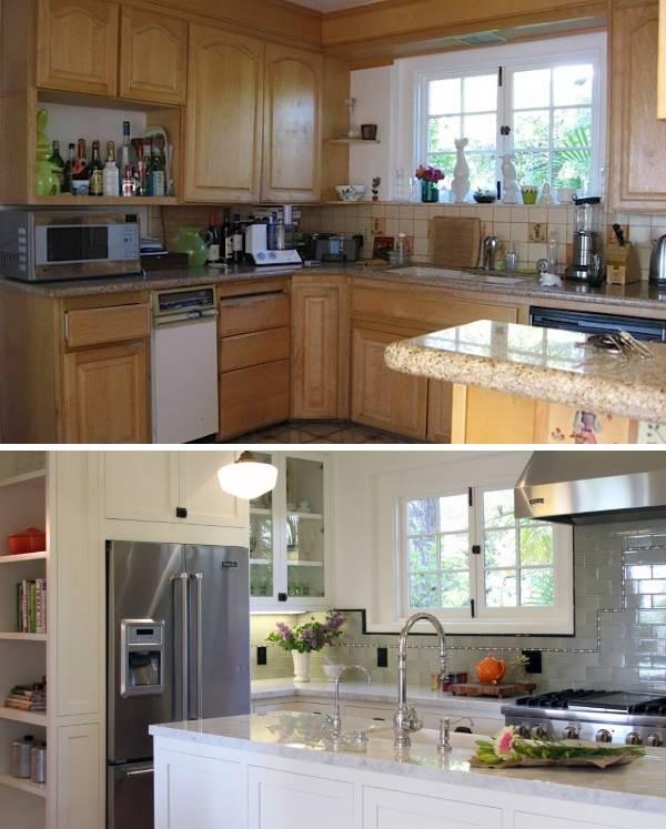 Как сделать кухню просторней
