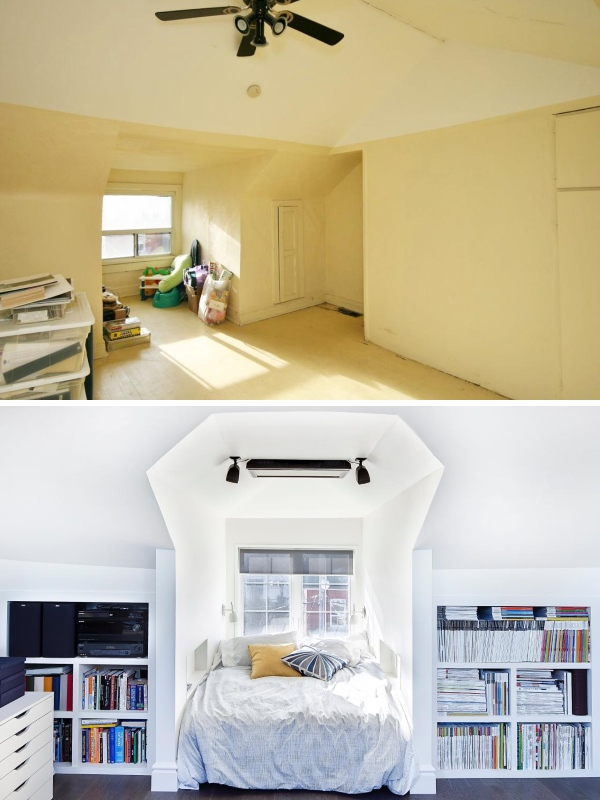 Идея для обустройства чердака частного дома