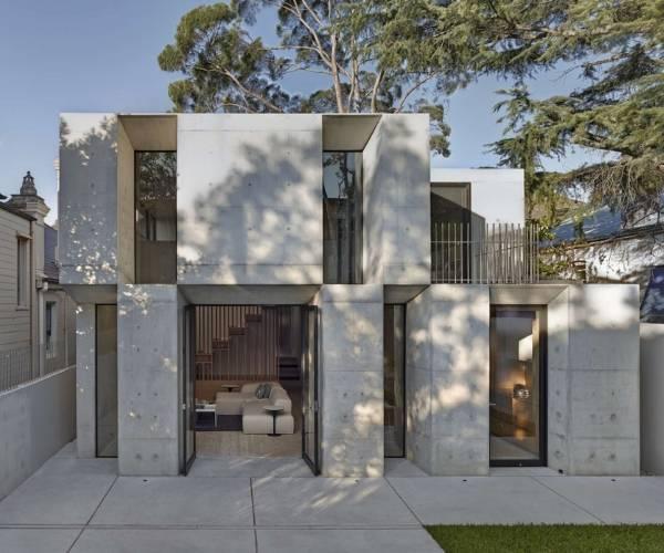 Уникальный дизайн частного дома в современном стиле
