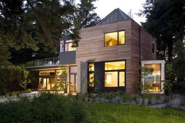 Как выглядит современный дизайн частного дома фото