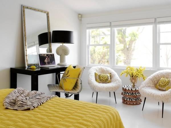 Дизайн спальни частного дома своими руками