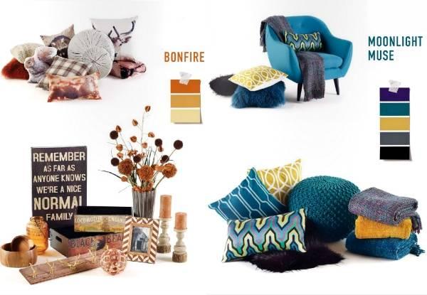 Предметы интерьера и примеры стильного сочетания цветов